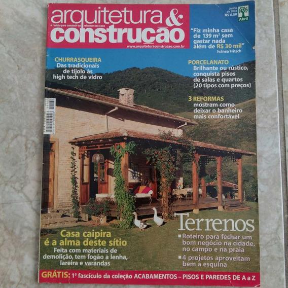 Revista Arquitetura & Construção 6/2002 Churrasqueira