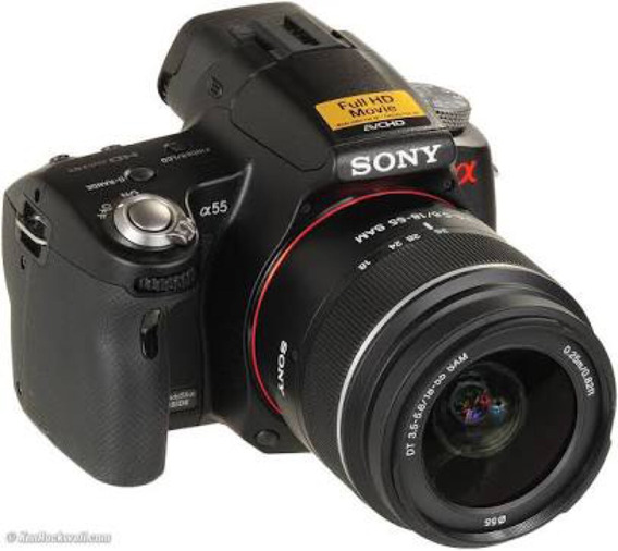 Camera Profissional Sony Alpha A55 - 16.2mpx