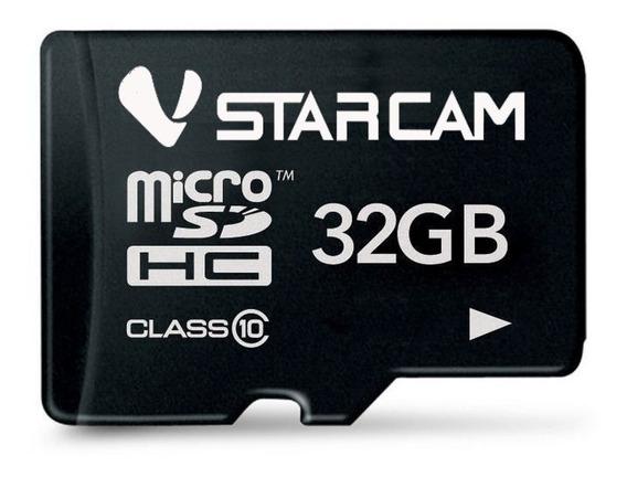 Memoria Micro Sd 32gb Clase 10 Vstarcam P/ Camaras + Cuotas
