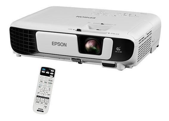 Projetor Epson Powerlite X41+ 3600 Lumens Wifi Hdmi 3lcd
