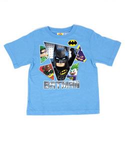 4a5ea3bd5 Playera Para Niño Lego Estamapado Batman Y The Joker Movie