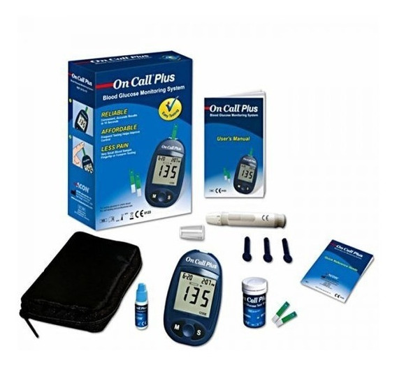 Glucometro Kit On Call® Plus + Micro Hielera