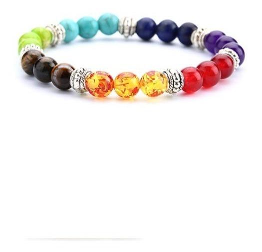 Pulseira 7 Chakras Colors Difusor De Aromas