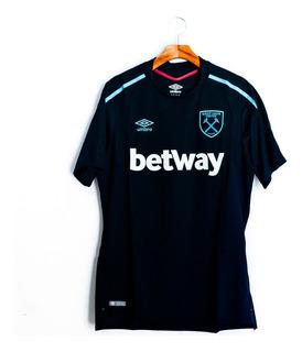 Camisa De Futebol West Ham United 2017/18 Away Umbro