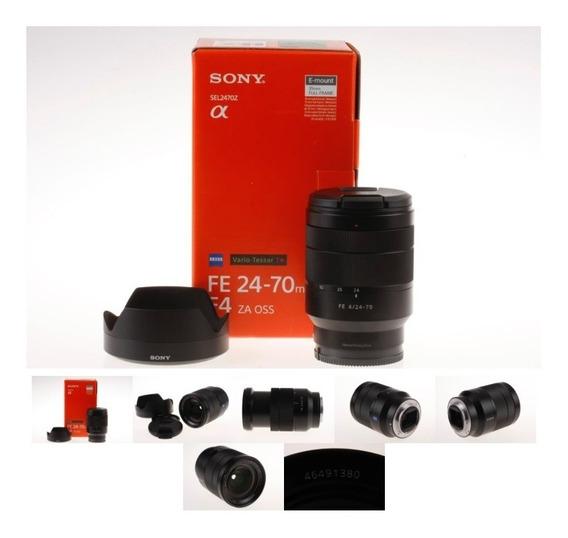 Lente Sony Zeiss 24-70mm F/4 Vario-tessar T Sel2470z Oss Fe