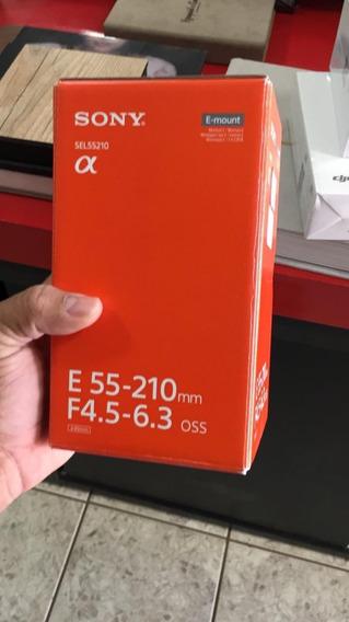 Lente Sony E 55-210mm F/4.5-6.3 Oss (sel55210