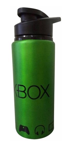 Garrafa Squeeze Xbox De Aluminio 600 Ml Original
