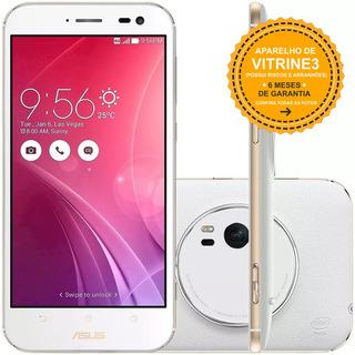 Asus Zenfone Zoom Zx551ml 128/4gb Dual 13mp Branco Vitrine 3