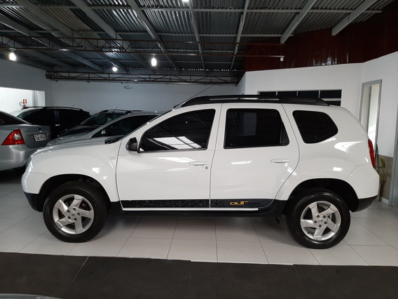 Duster 1.6 Outdoor Hi-flex Ano 2015 Couro Multimídia Roda