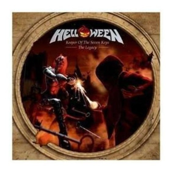 Helloween Keeper Of The Seven Keys 3 Cd X 2 Nuevo