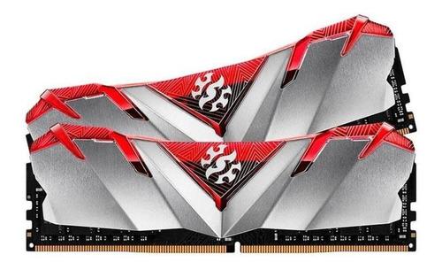 Imagem 1 de 2 de Memoria Adataxpg Gammix D30 16gb (2x8) Ddr4 3000mhz Vermelha