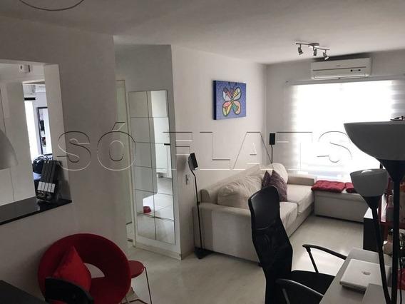 Apto Na Vila Nova Conceição Apto Lindo Reformado E Completo - Sf25463