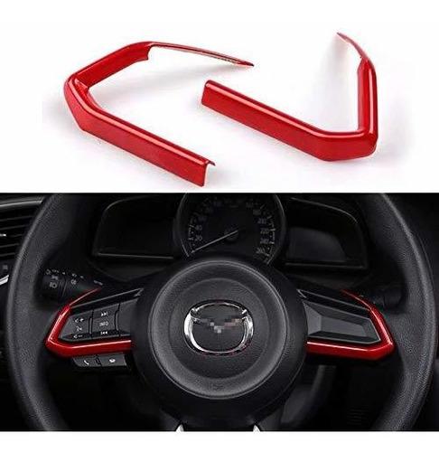 Imagen 1 de 5 de Duoles 2 Pcs Red Abs Car Styling Accesorios Para Automovile