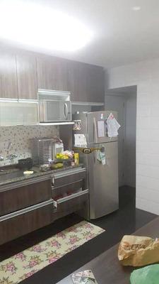 Apartamento Com 3 Dormitórios À Venda, 105 M² Por R$ 760.000 - Tatuapé - São Paulo/sp - Ap2044