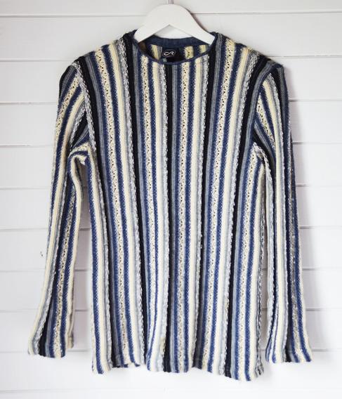 Sweater Mujer Cr Original Talle S Puños Oxford Casi Sin Uso!