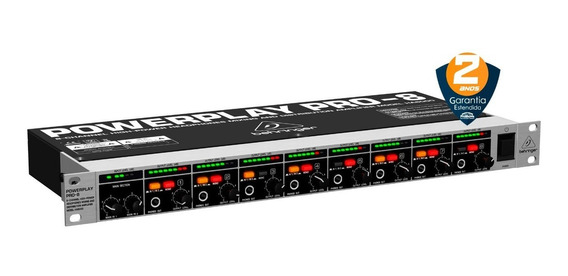 Amplificador De Fones Behringer Powerplay Pro-8 Ha8000