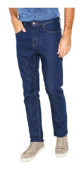 Calça Jeans Calvin Klein Slim Straight Azul Dl117