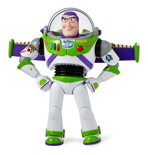 Figura Buzz Lightyear Toy Story Bilingüe Original De Disney