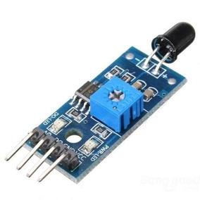Sensor Detector De Fogo Chama Flame Detector Arduino Pic Etc