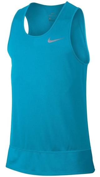 Regata Nike Dry Running Tank Masculino Loja Tênis Preto