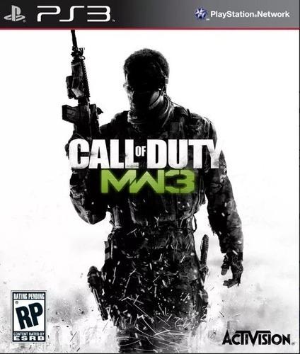 Call Of Duty Modern Warfare 3 Ps3 Mídia Física Usado Español