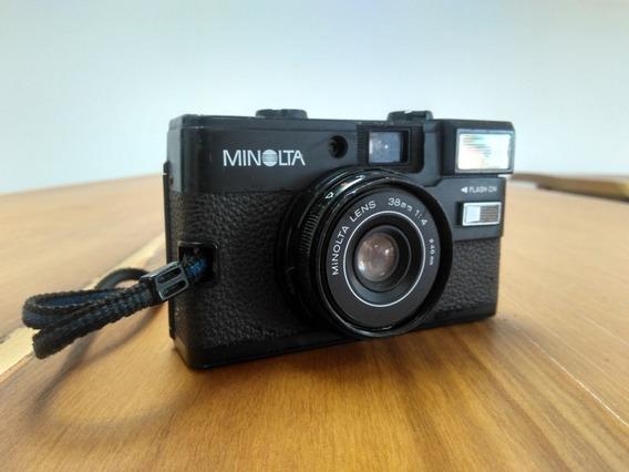 Câmera Minolta Hi-matic Gf ***leia***
