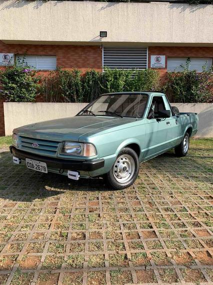 Ford Pampa L 1987 Motor Cht Alcool Com Placa Preta