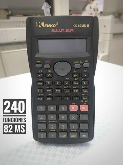 Calculadora Científica Kenko 82 240 Funciones