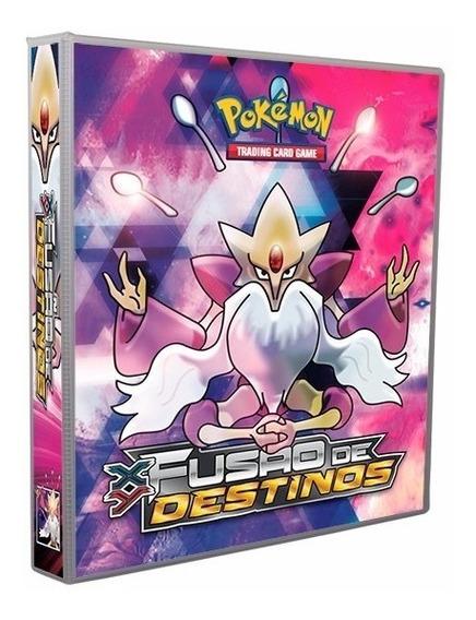 Album Pokémon Para Cards Fusão De Destinos Alakazam