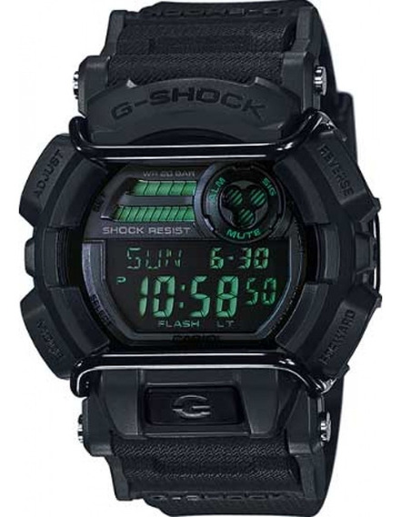 Relógio Casio G-shock Gd-400mb-1dr Preto - Cor: Preto - Tama