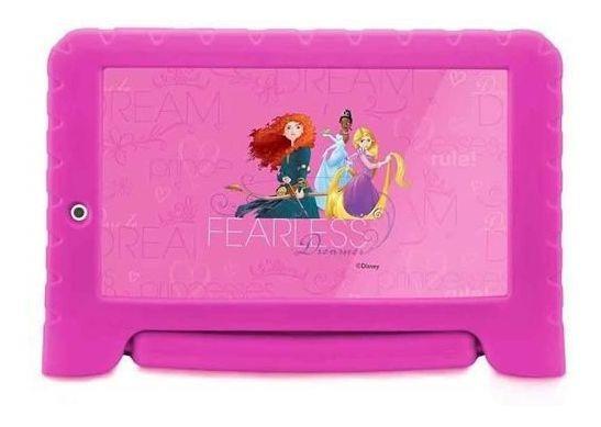 Tablet Multilaser Nb281 Disney Princesas Plus 8gb E Capa