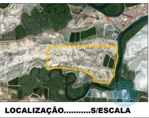 Excelente Area Para O Cultivo Do Camarao, Ou Energias Renovaveis - V-10952
