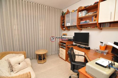 Casa Geminada 04 Quartos, Bairro Santa Amélia, Belo Horizonte - Mg. - 4686
