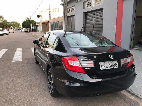 Honda Civic Lxr 2.0 Flex Automatico 2016