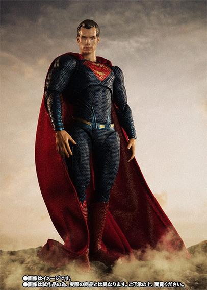 Superman - Liga Da Justiça - S.h. Figuarts