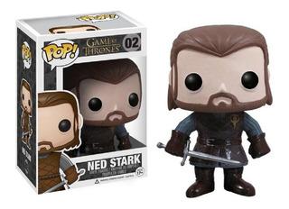 Funko Pop #02 - Ned Stark - Got Game Of Thrones - Original