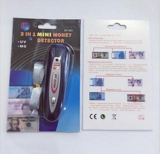 Detector Billetes Sensor Magnetico Grande Y Luz Uv