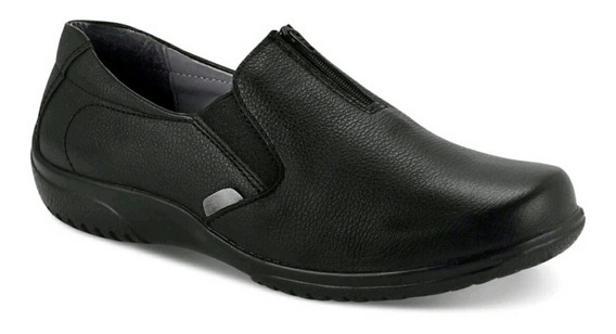Zapato Cerrado Dama 100% Piel Negro