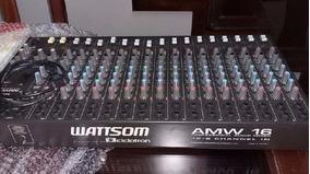Mesa De Som Ciclotron Amw 16 Esd 16 Canais C Efeitos(nova)