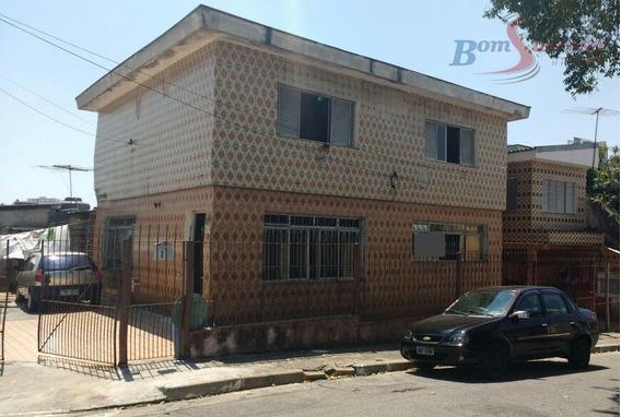 Sobrado Residencial À Venda, Vila Invernada, São Paulo. - So0820