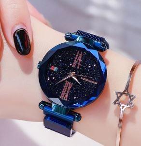 Paquete 5 Relojes Magnetico Para Dama De Moda