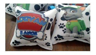 30 Almofadas Chaveiro Patrulha Canina Personalizada