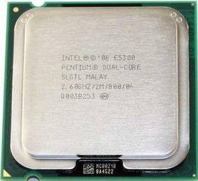 Processador Intel Pentium Dual Core E5300 2.60ghz/2m/800 ¨
