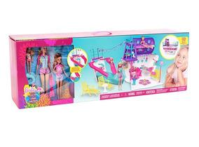 Barbie Cruzeiro De Luxo Mattel 3 Bonecas