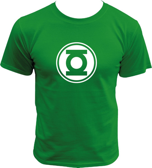 Playera De Linterna Verde Green Lantern League Dc Comics