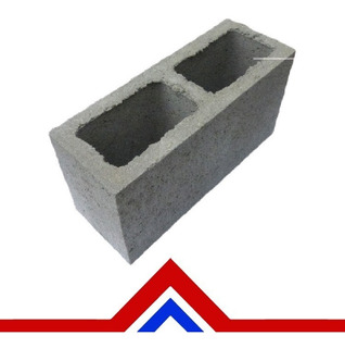Bloque Cemento 13x19x39 - Materiales Moreno