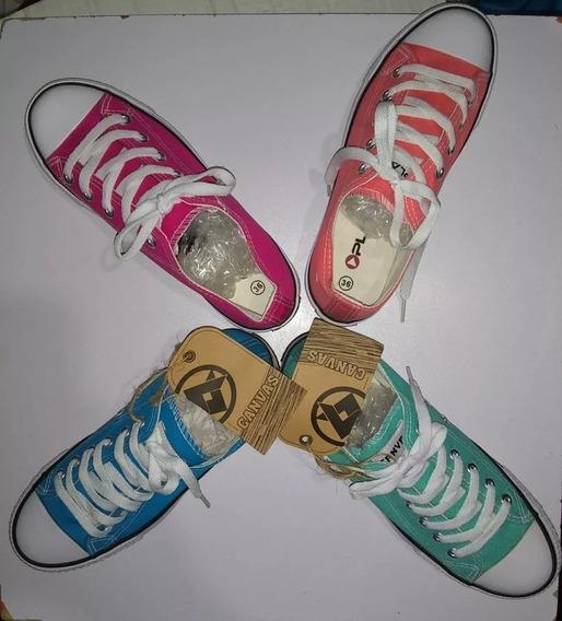 Zapatos Converse Canvas $12 Estilo All Star Oferta!!!
