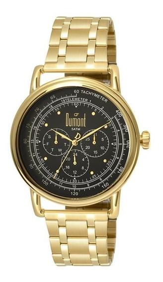 Relógio Dumont Unissex Du6p29acb/4d