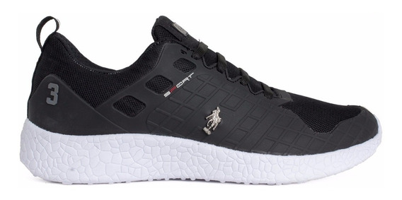 Tenis Hpc Polo Black 55