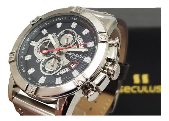 Relógio De Pulso Masculino Seculus 23683g0svnc2